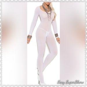 🆕Cuddle Season LS Open Crotch Lingerie Bodystocki